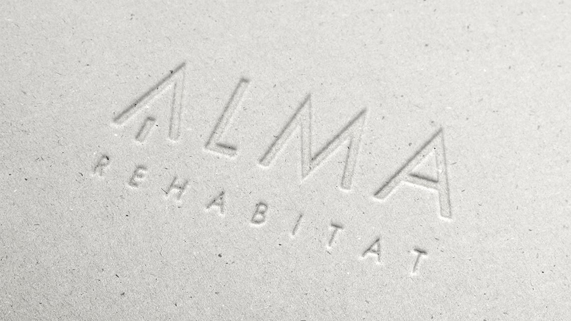 Alma - Logotipo estamping - EADe