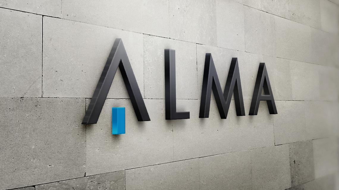 Alma - Logotipo pared - EADe