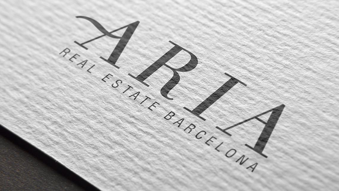 Aria - Logotipo textura - EADe