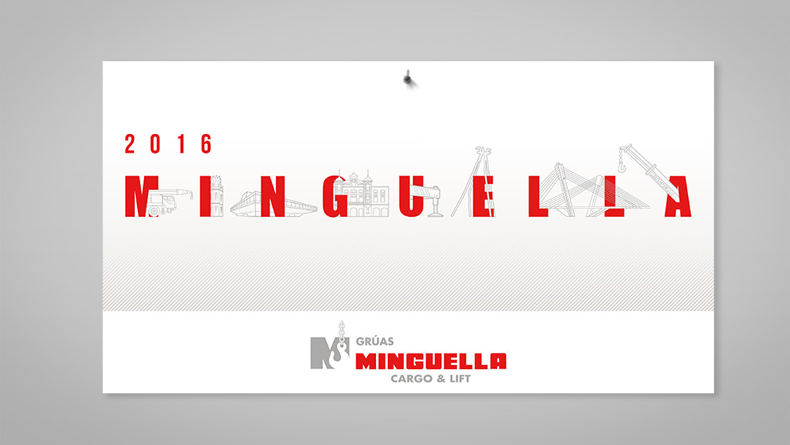 Minguella - Calendario pared - Portada - EADe