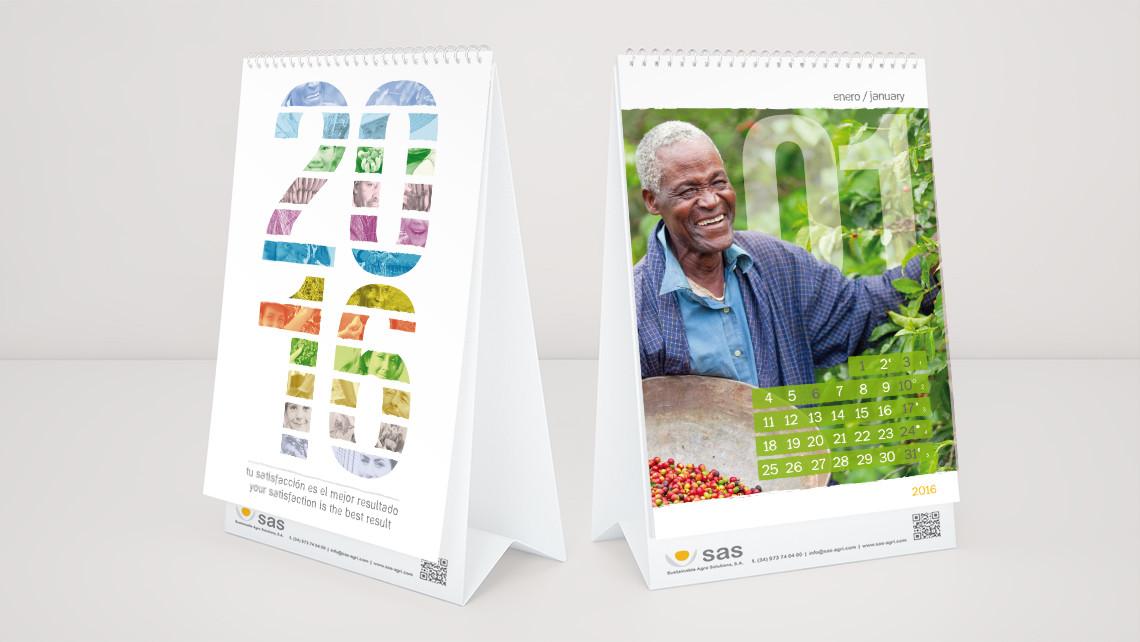 SAS - Calendario sobremesa - Portada - EADe