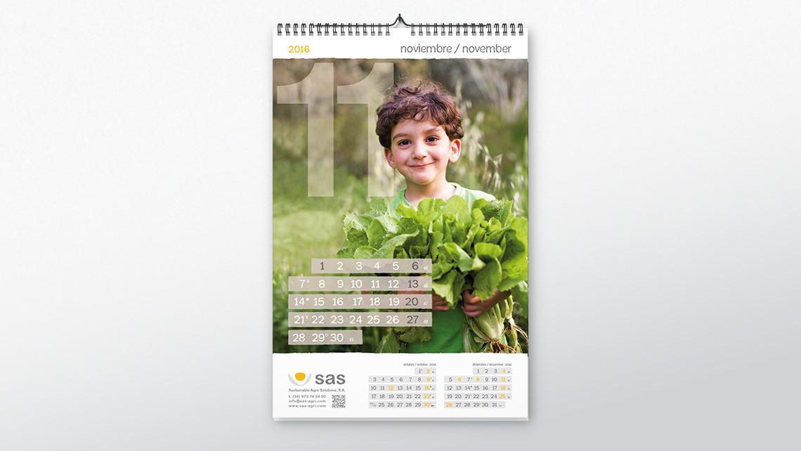 SAS - Calendario pared - Noviembre - EADe