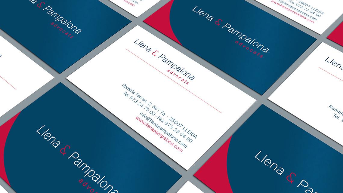 Llena & Pampalona advocats - Tarjetas 2 - EADe