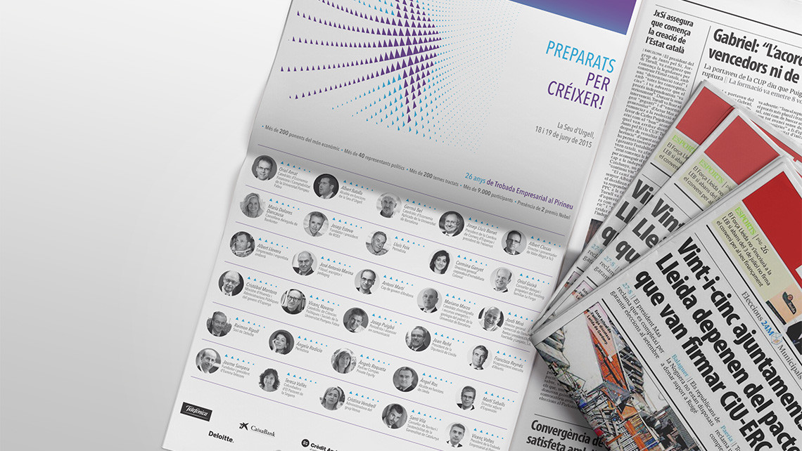 Trobada Empresarial al Pirineu - Periódico - EADe