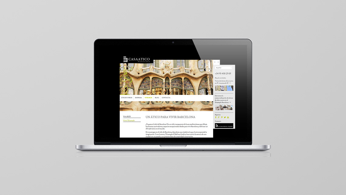 Casaatico Barcelona - Macbook - EADe
