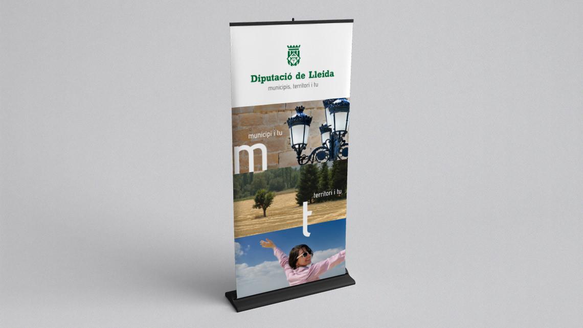 Diputació de Lleida - Roll up - EADe
