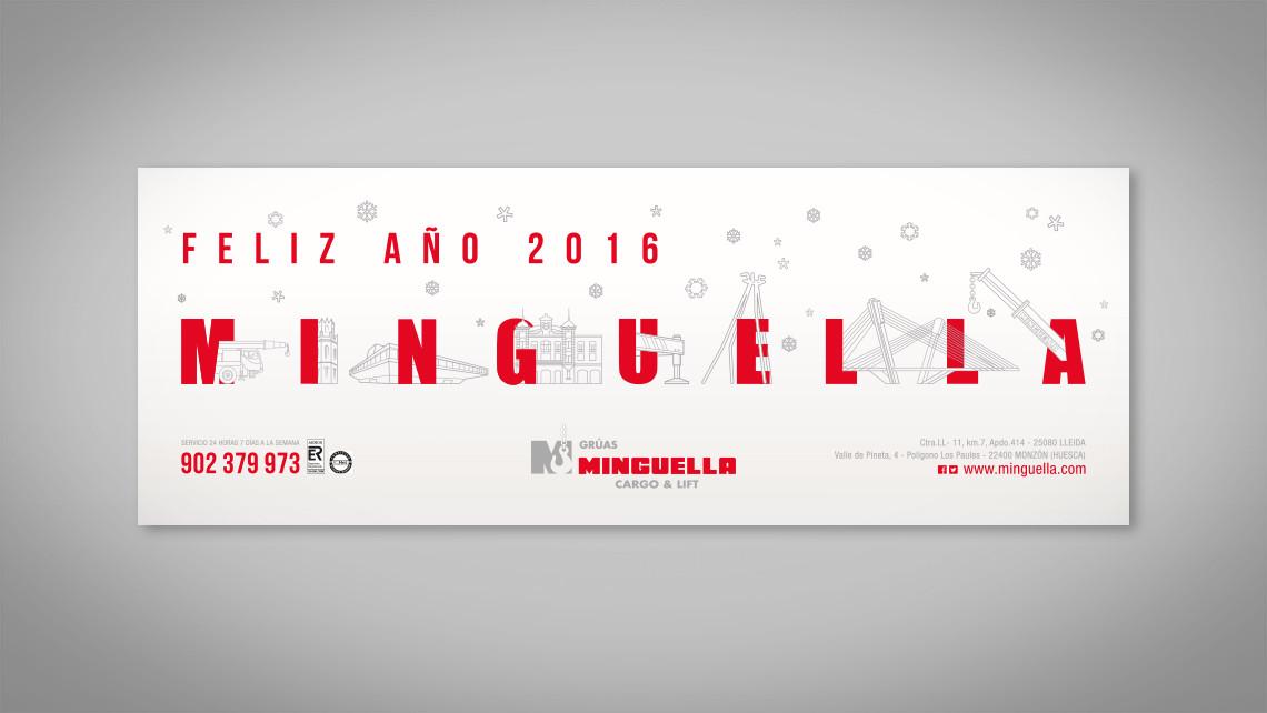 Minguella - Postal navideña 2016 - EADe