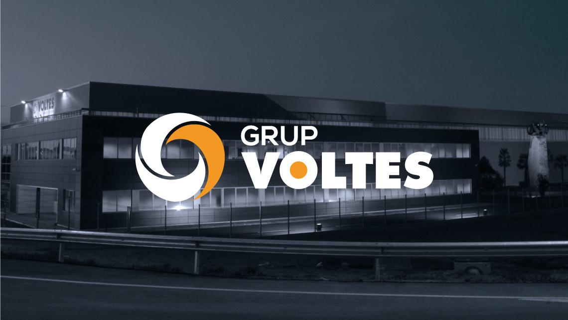 Grup Voltes - Logotipo en negativo - EADe