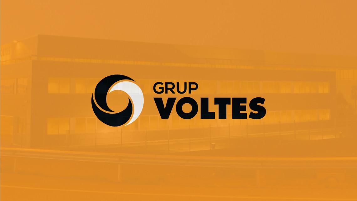 Grup Voltes - Logotipo positivo naranja - EADe