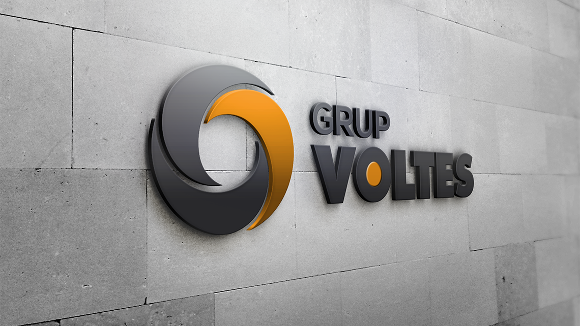Grup Voltes - Logotipo pared - EADe