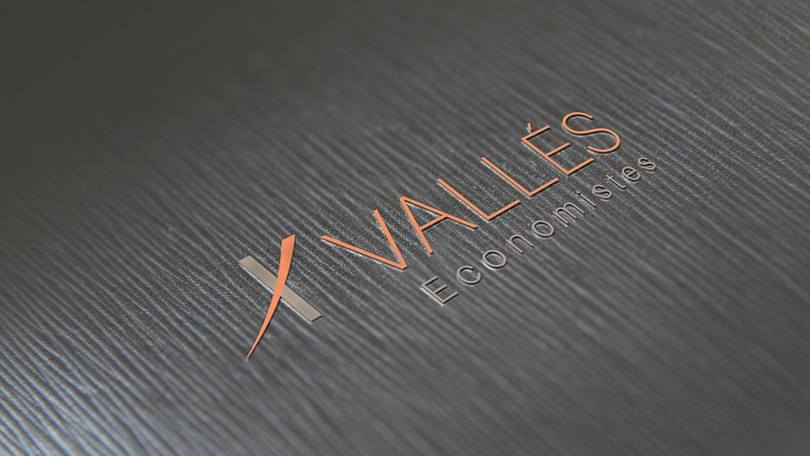Vallés Economistes - Logotipo textura - EADe