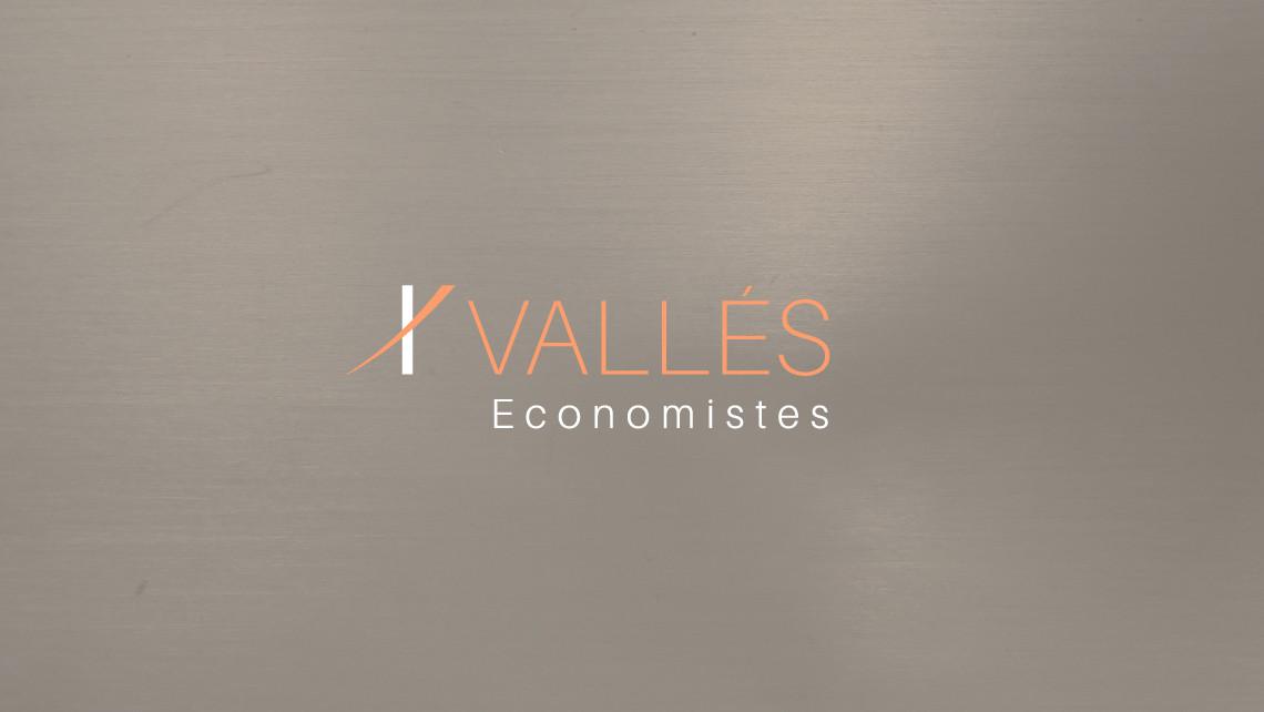 Vallés Economistes - Logotipo negativo - EADe