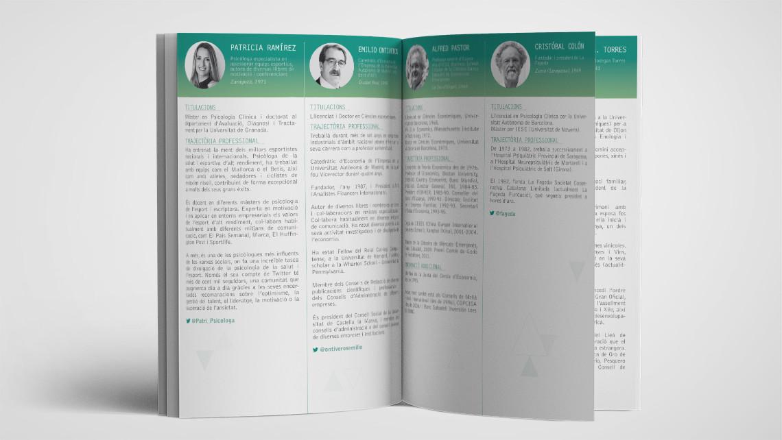 Trobada Empresarial al Pirineu 2016 - Interior libreto - EADe