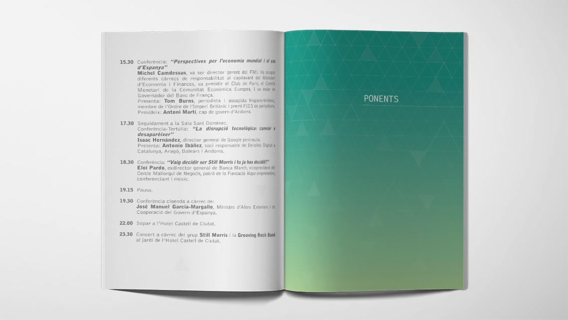 Trobada Empresarial al Pirineu 2016 - Interior Ponentes - EADe