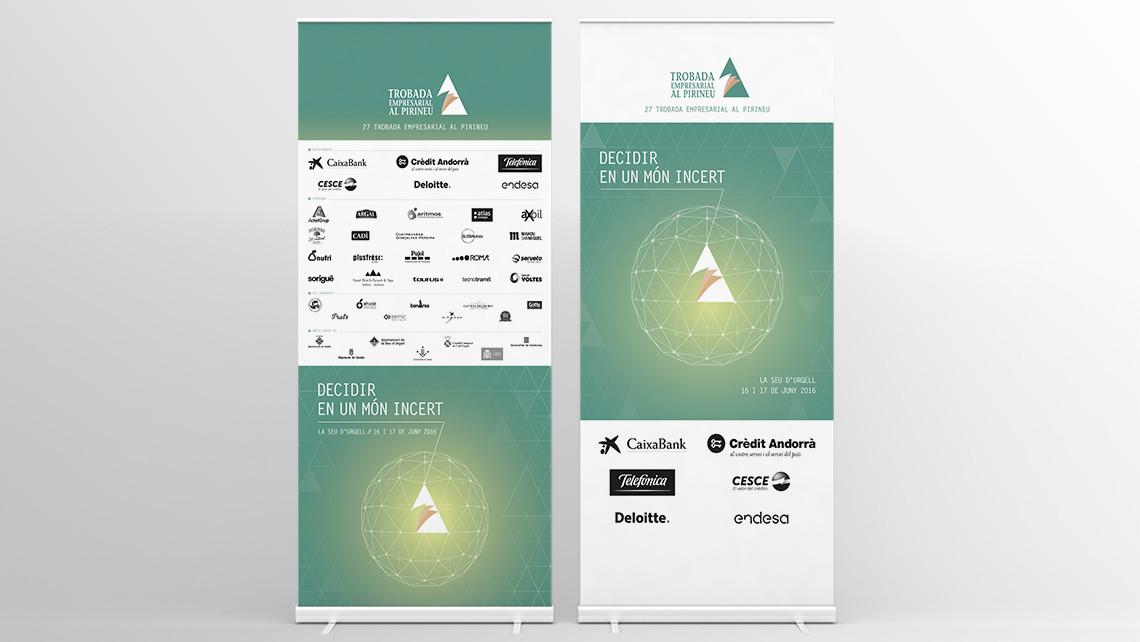 Trobada Empresarial al Pirineu 2016 - Rollup - EADe
