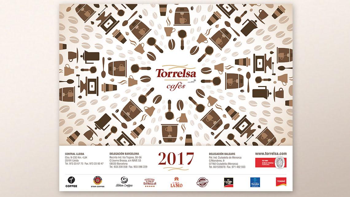 Torrelsa cafés - Imatge calendari 2017 - EADe