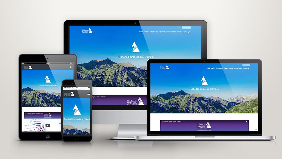 Trobada Empresarial al Pirineu - Web general - EADe