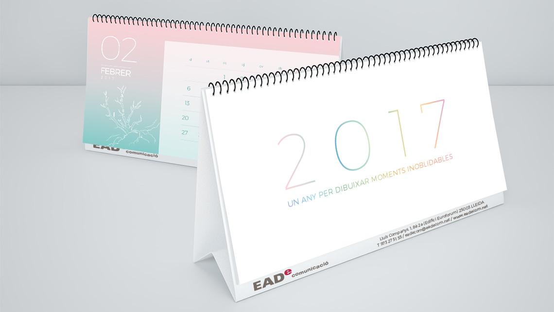 Portada - Calendario 2017 - EADe