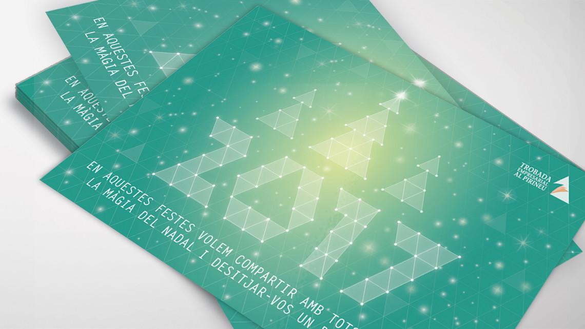 Trobada Empresarial al Pirineu 2016 - Felicitación - EADe