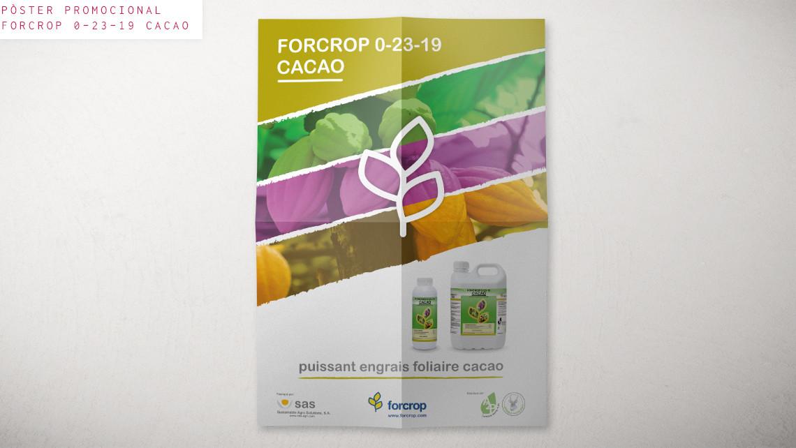 SAS - Forcrop - Pòster promocional - Cacau - EADe