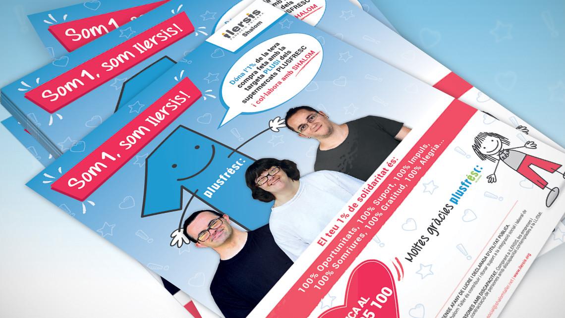 Ilersis - Plusfresc - Pòsters - Campanya solidària - EADe