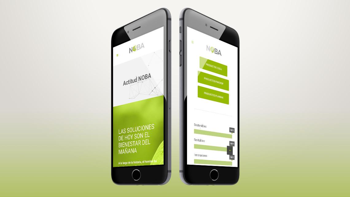 NOBA - Web iPhone - EADe