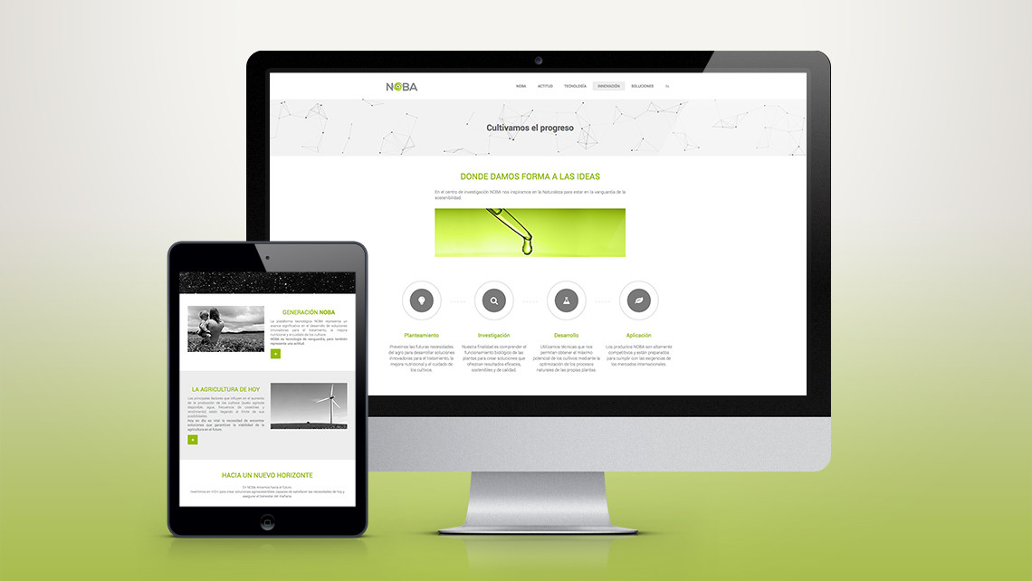NOBA - Web iMac i tablet - EADe