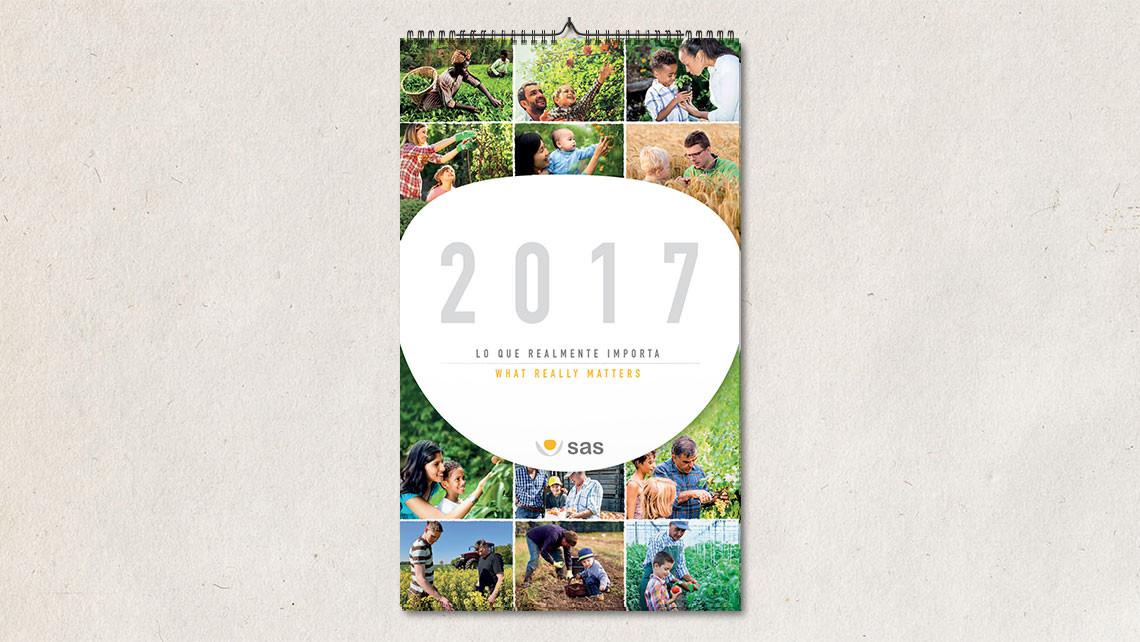 SAS - Calendario 2017 - Portada calendario de pared - EADe