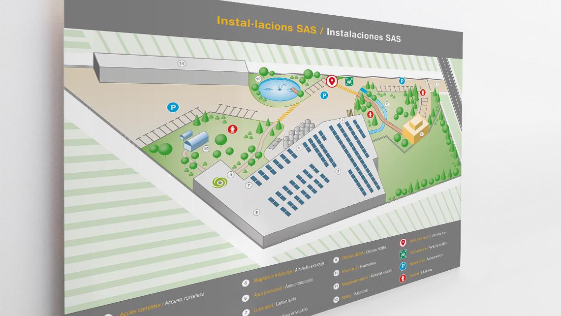 SAS - Mapa infogràfic - Cartell gran - EADe