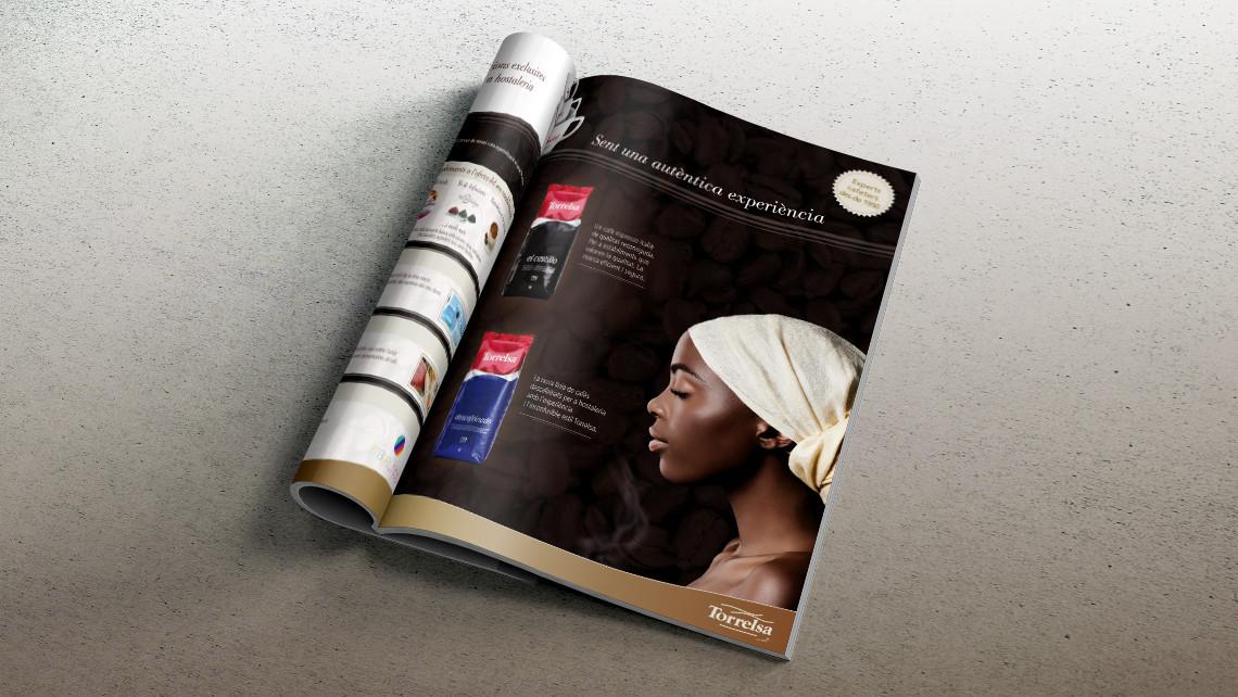 Torrelsa Cafés - Anuncio catálogo - EADe