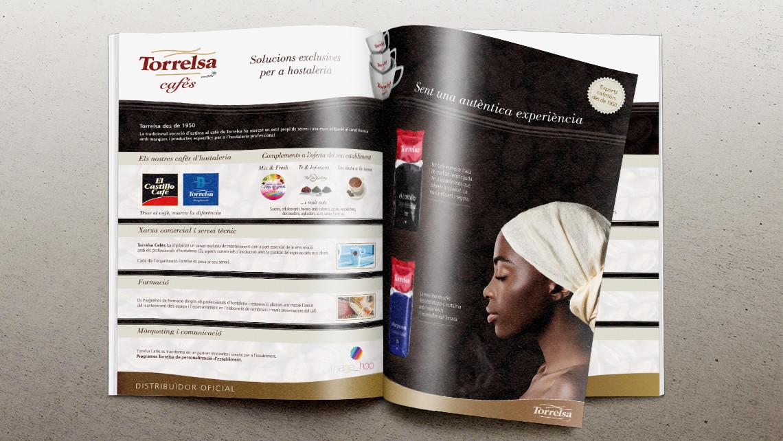 Torrelsa Cafés - Anuncio general catálogo - EADe