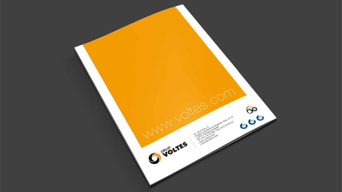 Grup Voltes - Dossier d'empresa - Contraportada - EADe