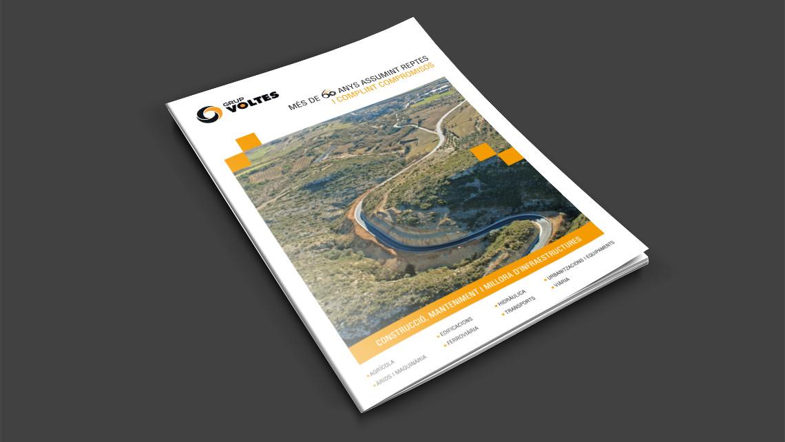 Grup Voltes - Dossier d'empresa - Portada - EADe