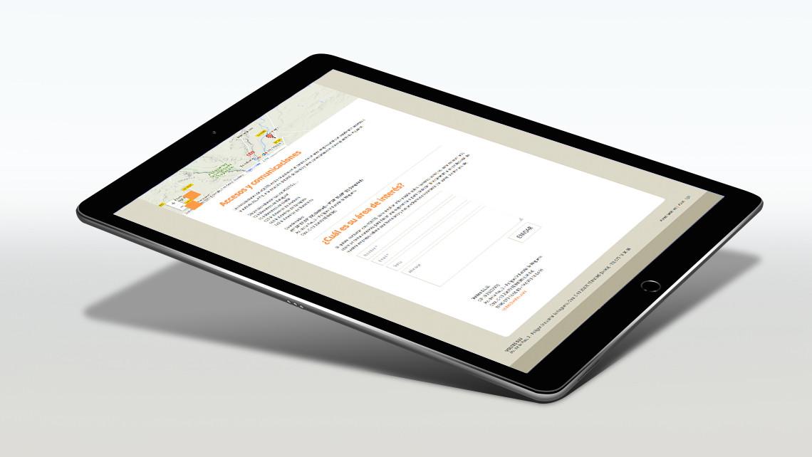 Grup Voltes - Web iPad - Contacta - EADe
