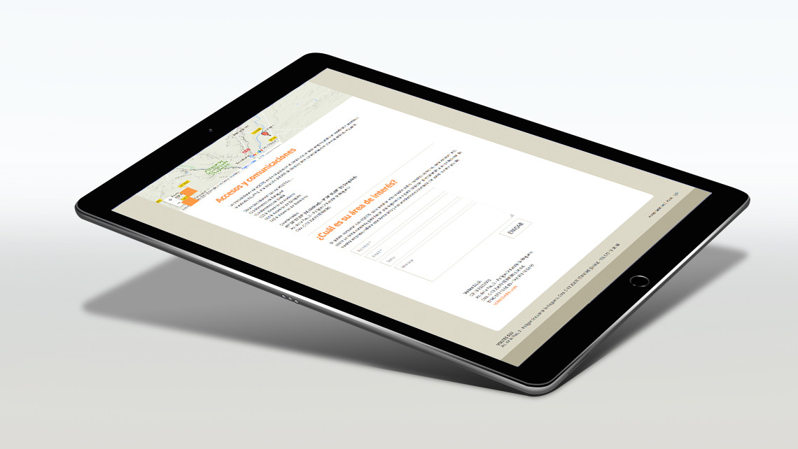 Grup Voltes - Web iPad - Contacto - EADe