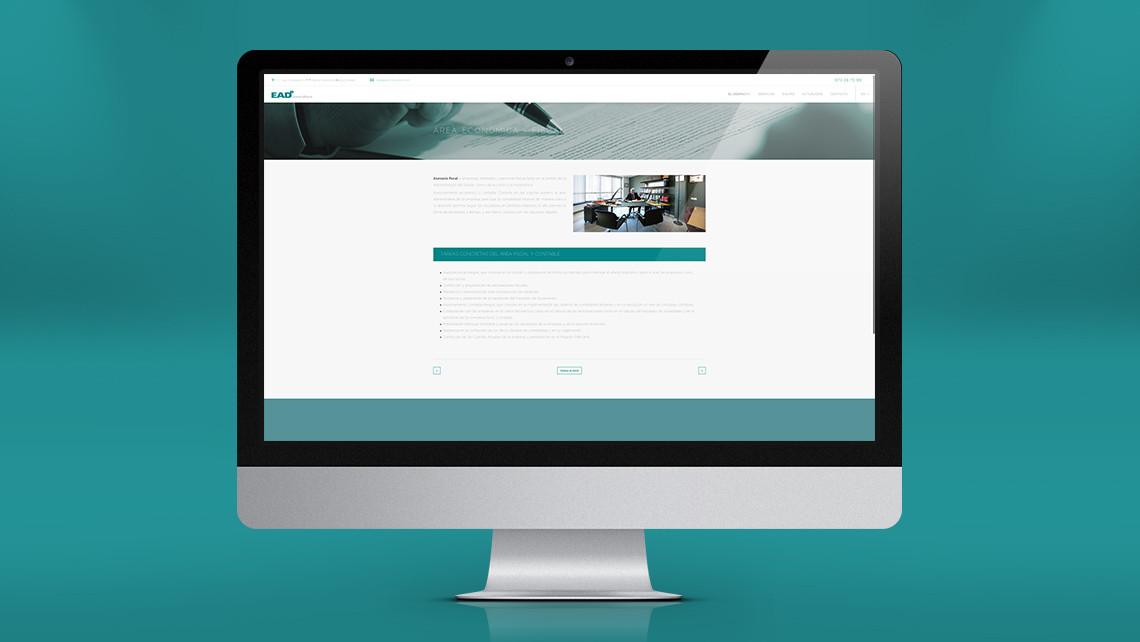 EADe Consultors - Web - Área económica - EADe