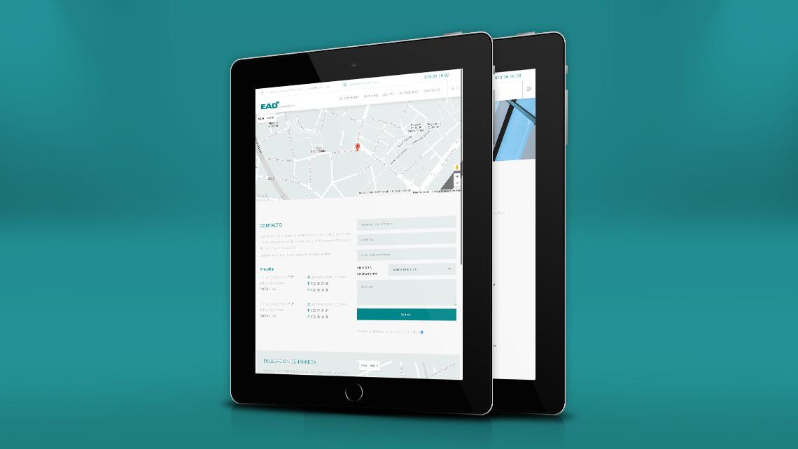 EADe Consultors - Web - Contacta - EADe