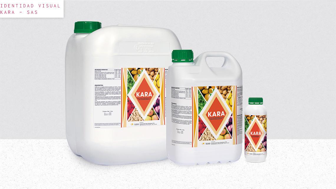 SAS - Kara - Garrafas con etiquetas - EADe