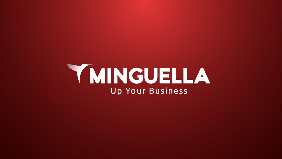 Minguella - Logotipo en negativo - EADe