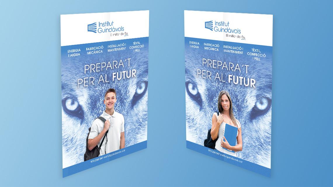 Institut Guindàvols - Formación profesional 2017 - Poster - EADe