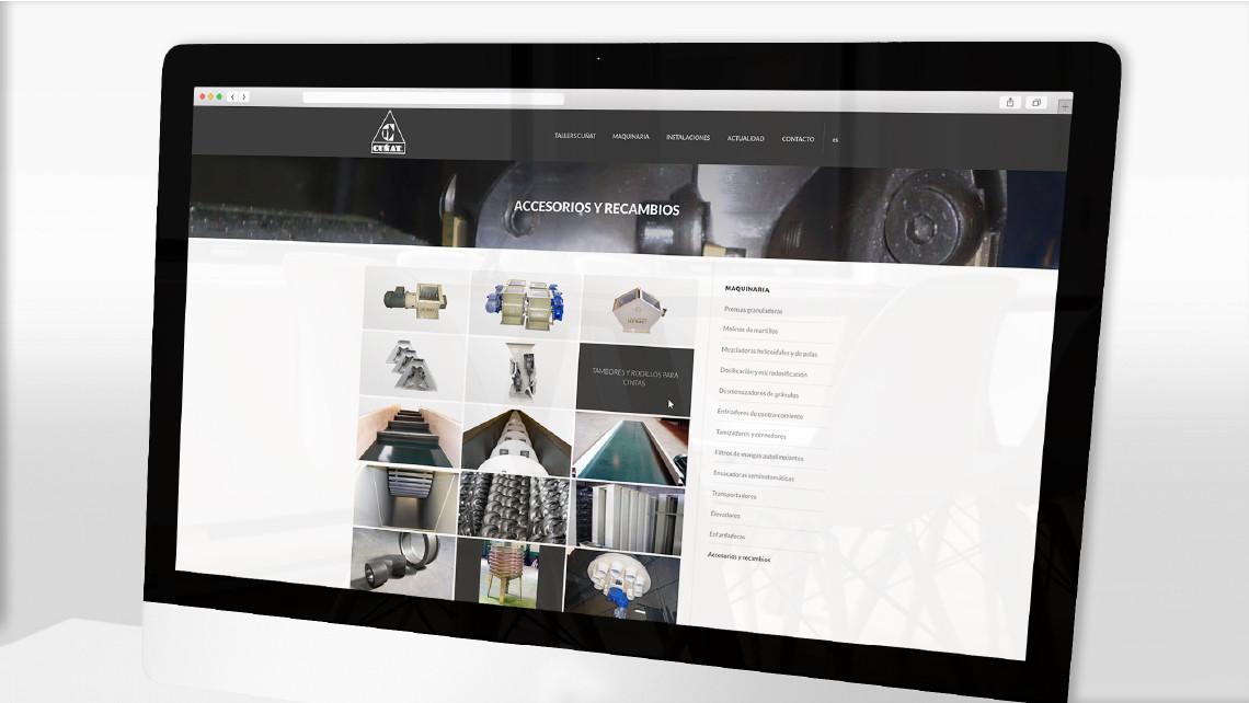 Tallers Cuñat - Web - iMac - EADe