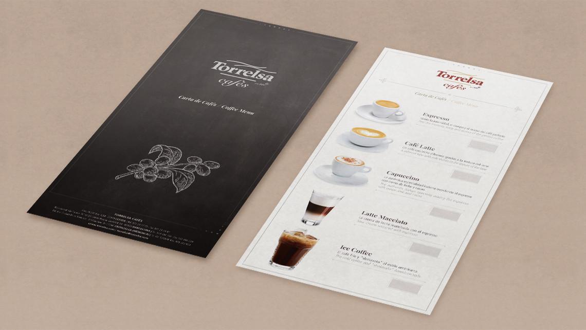 Torrelsa Cafés - Interior - Cartas promocionales generales - EADe