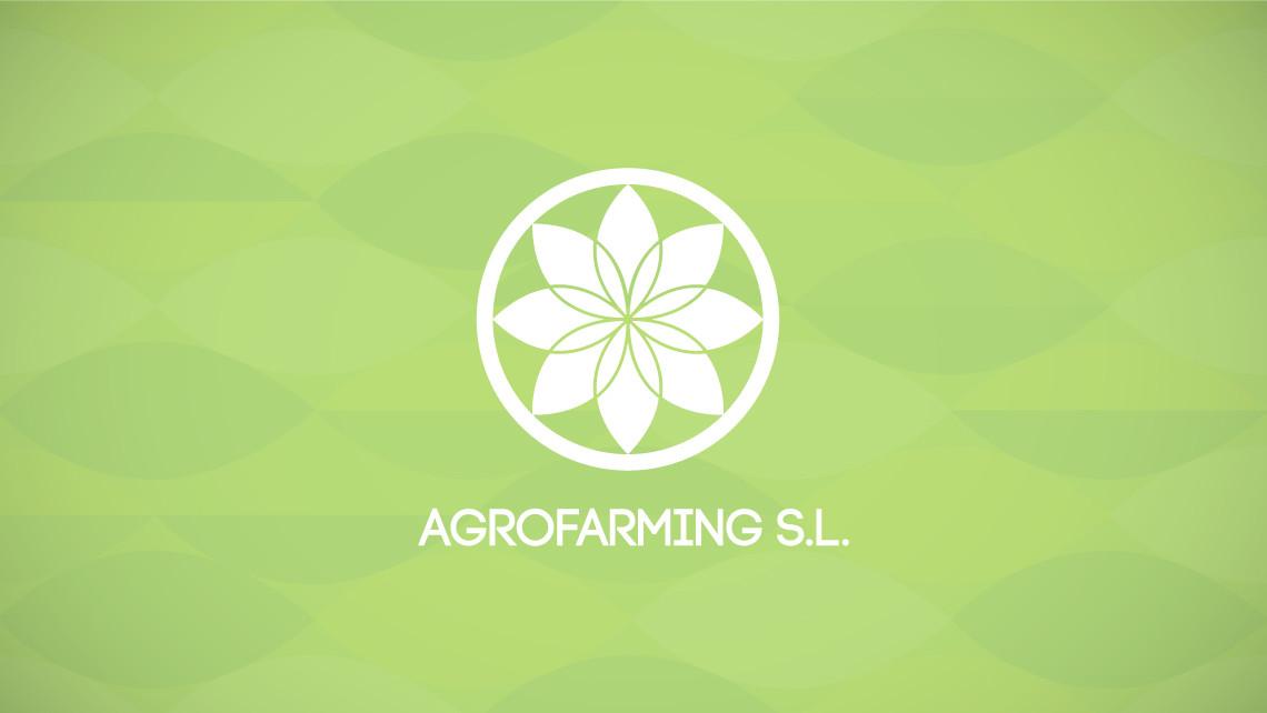 Agrofarming SL - Logotipo en negativo - EADe