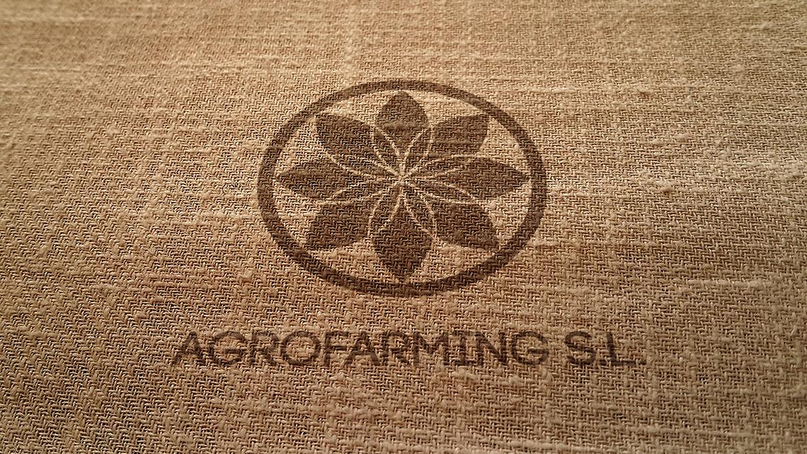 Agrofarming SL - Logotipo sobre saco - EADe
