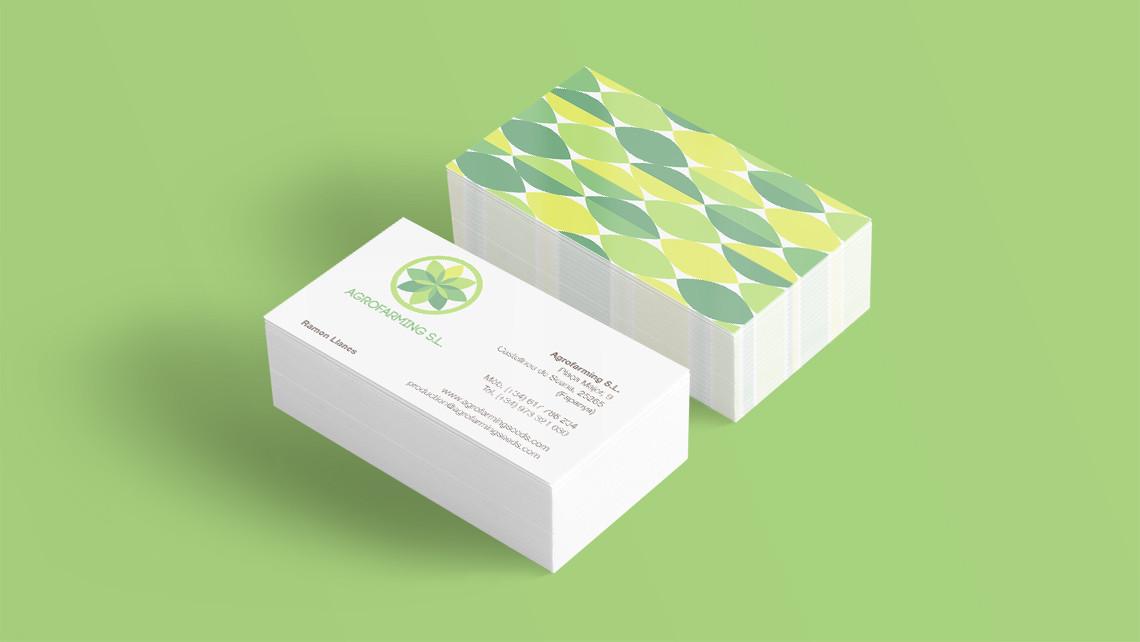 Agrofarming SL - Tarjetas de visita - EADe