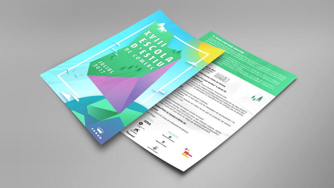 FECOM - Escuela de verano de comercio 2017 - Flyer - EADe