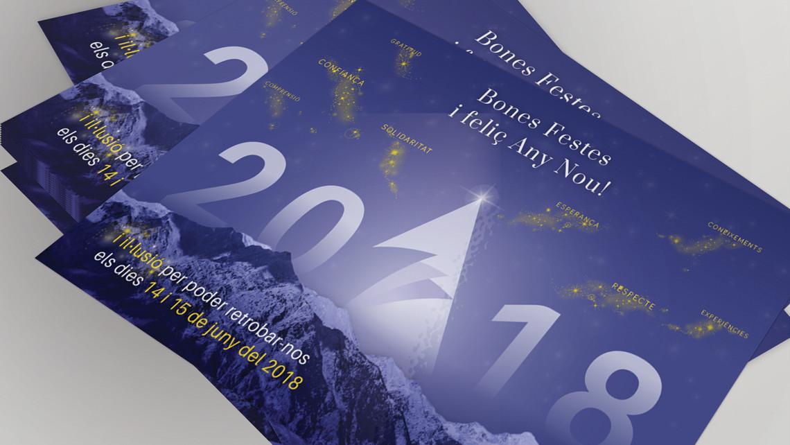 Trobada Empresarial al Pirineu 2017 - Felicitació nadalenca - EADe