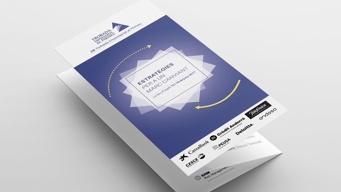 Trobada Empresarial al Pirineu 2017 - Tríptic - EADe