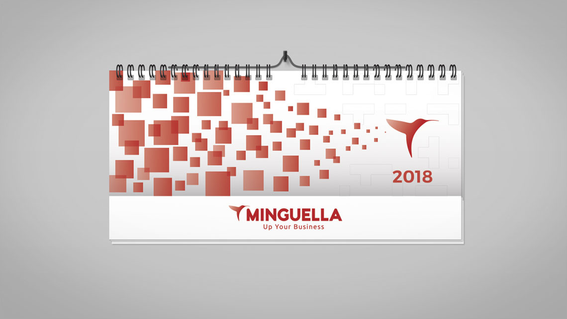 Minguella - Calendario de pared 2018 - EADe